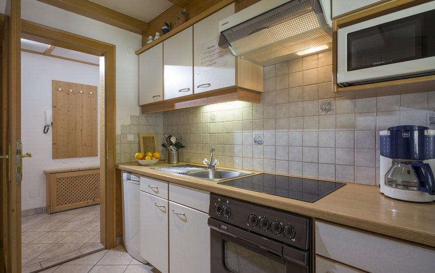 Kitchen in Apt. type 2 - Landhaus Casper ©Kalle's Appartements