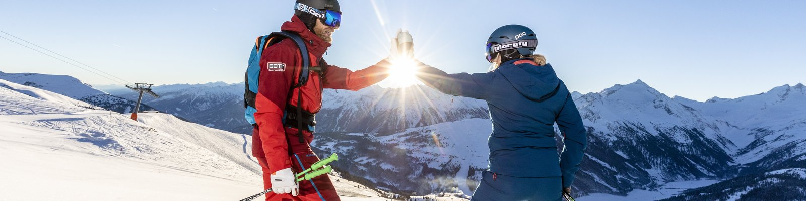 Sunrise skiing ©Johannes Sautner (Zillertal Arena)