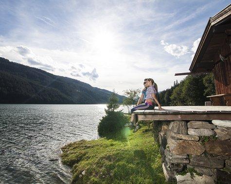 Time together on the Durlassboden reservoir ©Johannes Sautner (Zillertal Arena)