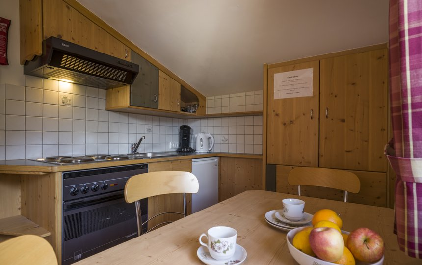 Kitchen in Apt. type 1 - Landhaus Casper ©Kalle's Appartements