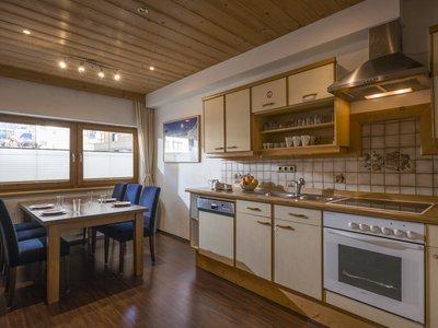 Küche App. Typ 2 - Kalle's Appartements ©Kalle's Appartements