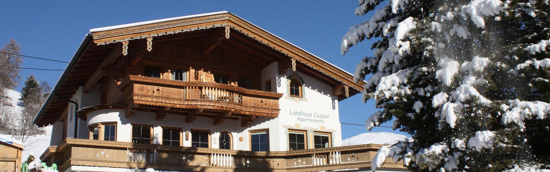 Landhaus Casper - Winter ©Kalle's Appartements