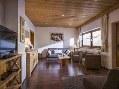 Wohnzimmer App. Typ 2 - Kalle's Appartements ©Kalle's Appartements