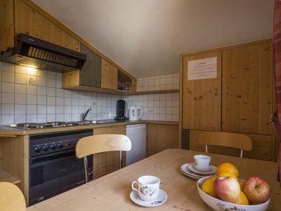 Küche App. Typ 1 - Landhaus Casper ©Kalle's Appartements