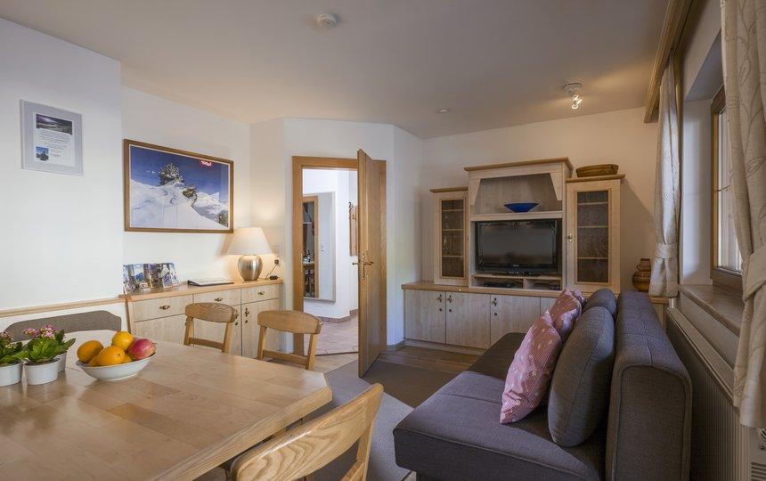 Wohnzimmer App. Typ 1 - Kalle's Appartements ©Kalle's Appartements